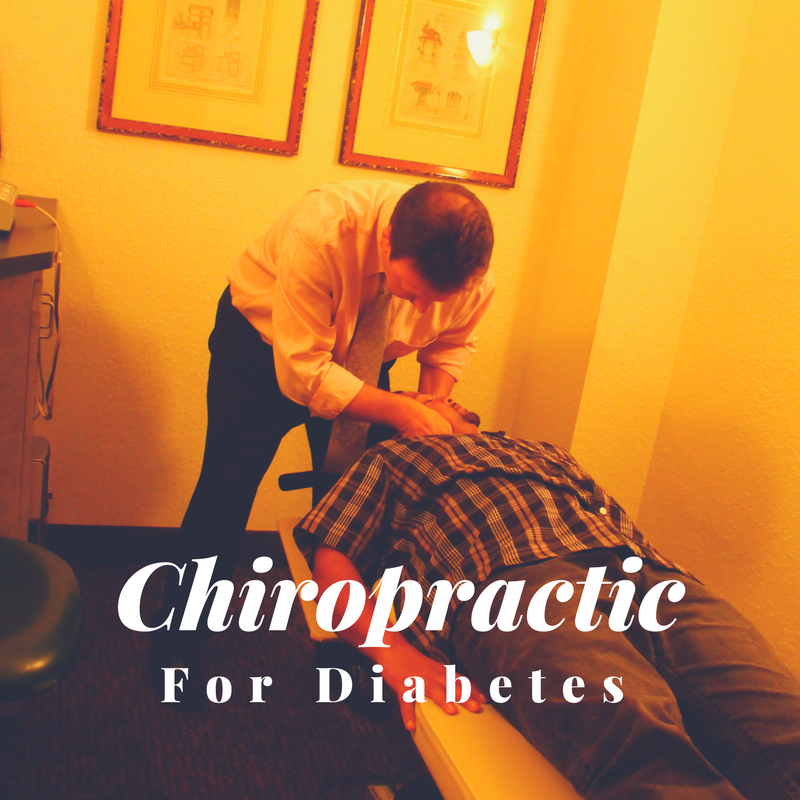 Effective Chiropractic Care For The Management of Diabetes.